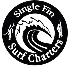 single fin surf charters